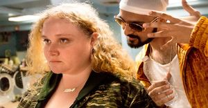 Danielle Macdonald and Siddharth Dhananjay in