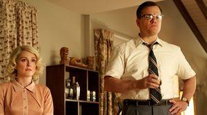 Julianne Moore and Matt Damon in