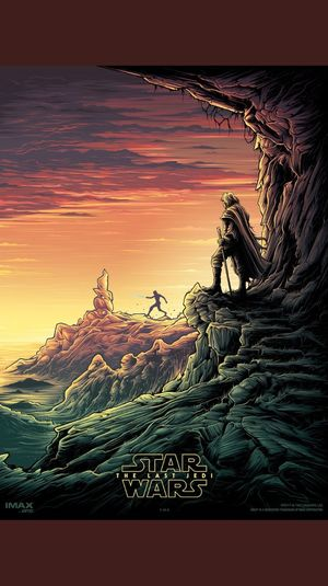 Star Wars: The Last Jedi IMAX Poster