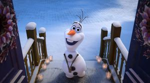 Olaf (voiced by Josh Gad)