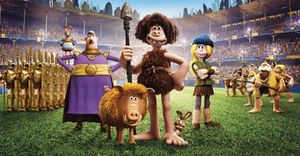 The animated cast of 'Early Man'