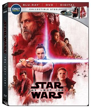 Best Buy Steelbook (Blu-ray + DVD + Digital)