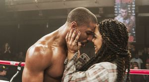 Michael B. Jordan and Tessa Thompson