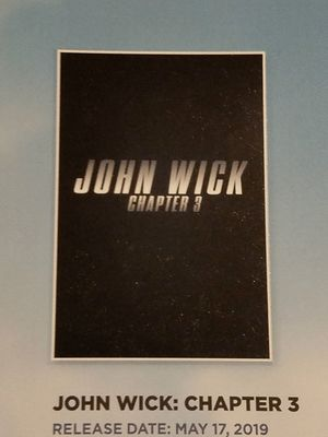'John Wick: Chapter 3' Promo Poster - Lionsgate