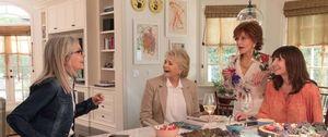 Diane Keaton, Candice Bergen, Jane Fonda & Mary Steenburgen