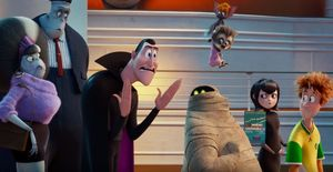 The Cast of 'Hotel Transylvania 3'