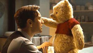 Ewan McGregor and Winnie the Pooh