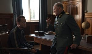 August Diehl and Bruno Ganz in 'A Hidden Life'
