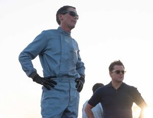 Christian Bale and Matt Damon in 'Ford v Ferrari'