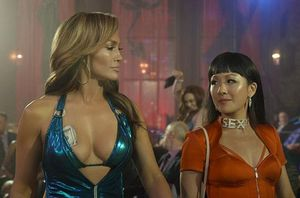 'Hustlers' Jennifer Lopez and Constance Wu