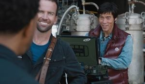 Lucas Black and Jason Tobin