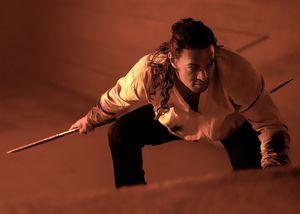 Jason Momoa as Duncan Idaho. ⎮  PHOTO BY CHIABELLA JAMES.