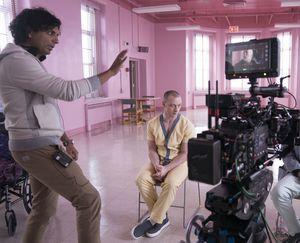 M. Night Shyamalan directing 'Glass'