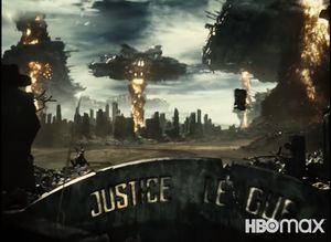 The Hall of Justice Destroyed