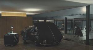 Black Suited Superman & Alfred