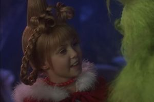 Taylor Momsen brings emotional intelligence as well as cuteness overload, to her role as Cindy Lou Who