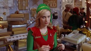 Not a North Pole elf, but an elf nonetheless and elf enough to catch Elf's eye and capture his heart. Zooey Deschanel pl