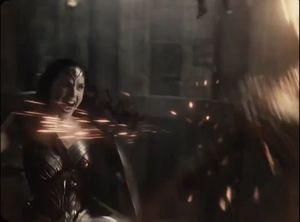 Diana fights Steppenwolf