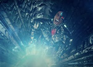 Cyborg with a Mother Box