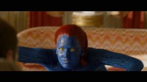 Jennifer Lawrence is found out, turns blue as mutant Mystique