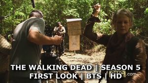 The Walking Dead Season 5: First Look & Greeting From Set