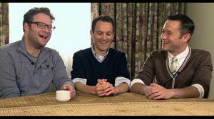 Seth Rogen, Will Reiser, Joseph Gordon-Levitt and Anna Kendrick talk about 50/50