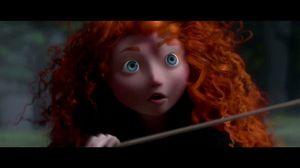 It is carried in the wind. Disney Pixar's Brave