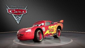Lightning McQueen introduces Cars 2