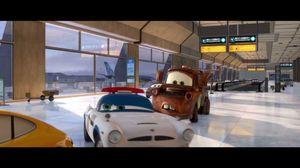 Tow Mater, average intelligence. Cars 2