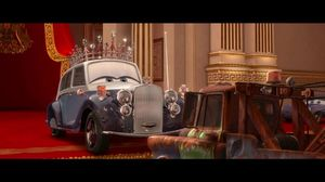 Is he American? Extremely. Cars 2 Mater at the Royal Wedding