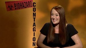 Jennifer Ehle on her character Ally Hextall, germs and Laurence Fishburne in Contagion
