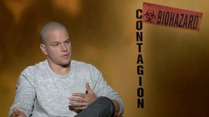 Matt Damon talks about playing a dad who has to protect his daughter in Contagion