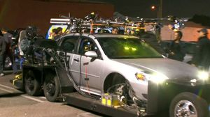 How the stunts and cars were filmed in Drive