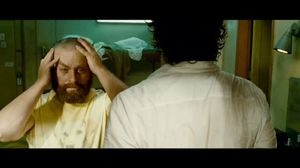 Your hair is gone, The Hangover 2
