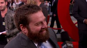 At the Hollywood Blvd Premiere: The Hangover Part 2