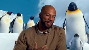 Common on playing Seymour and Happy Feet 2 director George Miller