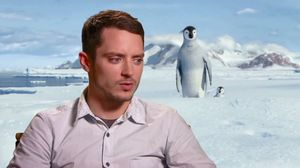 Elijah Wood on recording Happy Feet 2 in Sydney