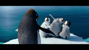 You're here without your parents. This is chick-napping. Happy Feet 2
