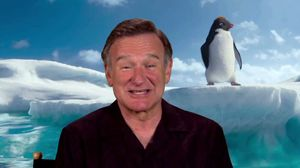 Robin Williams on playing the hopeless romantic Ramon in Happy Feet 2
