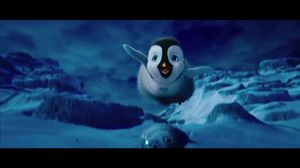 You're beautiful. Only on the outside. Happy Feet 2