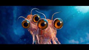 Brad Pitt and Matt Damon as Will and Bill the Krill in Happy Feet 2