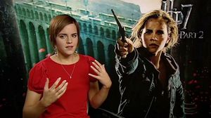 Emma Watson talks about playing Hermione Granger in Harry Potter 7 Part 2