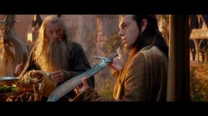I'm not actually sure it is a sword. More of a letter opener really. The Hobbit: An Unexpected Journey