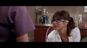 Oh, just relax there Jodie Foster! Jennifer Aniston in Horrible Bosses