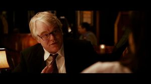 Philip Seymour Hoffman and Marisa Tomei talk about the State of the Union in Ides of March