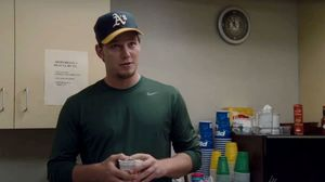 What's your biggest fear? A baseball being hit in my direction. Moneyball
