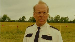 Bruce Willis deputizes the little guy, the skinny one and the boy with a patch on his eye to come with him. Moonrise Kingdom