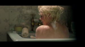 Colin Clark watches Marilyn Monroe in the bathtub in My Week With Marilyn