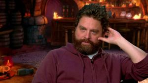 Zach Galifianakis talks about Humpty Alexander Dumpty in Puss in Boots