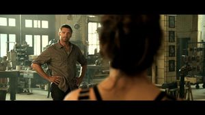 He could take any punch any guy could deliver. Real Steel